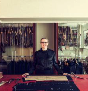 Kathryn Sargent, master tailor and founder, Kathryn Sargent Bespoke Tailoring in London's Mayfair