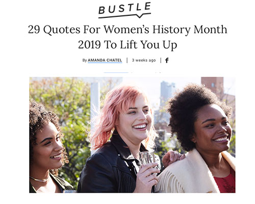 Women's History Month Highlights